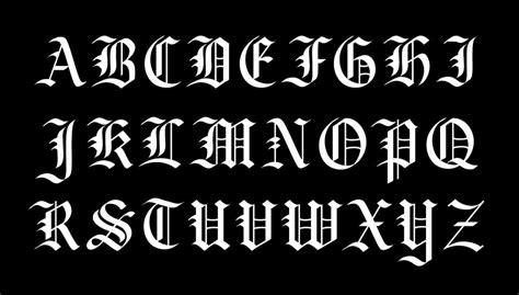what s your favorite font the studio psnprofiles fraktur calligraphy alphabet www pixshark com images