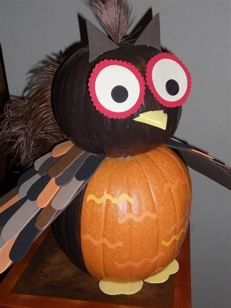 owl pumpkin owl theme pinterest