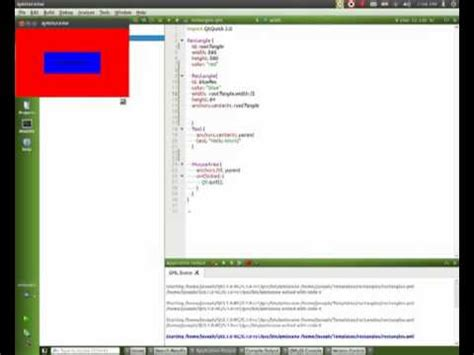 qml tutorial youtube qml tutorial part 6 rectangles gettings started with