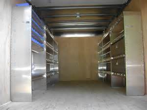 box truck shelving systems advantage outfitters vehicle upfitting in the new york area