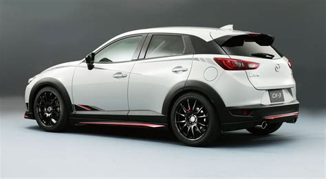 mazda x3 mazda cx 3 racing concept revealed practical motoring