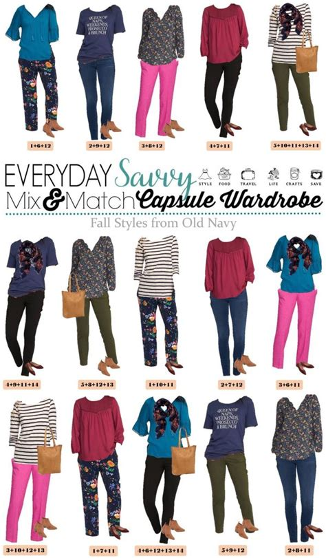 capsule wardrobe for retired women old navy fall capsule wardrobe