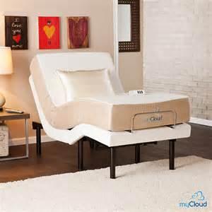 Bed Frames Bjs Sei Mycloud Xl Size Adjustable Bed Frame Bj S