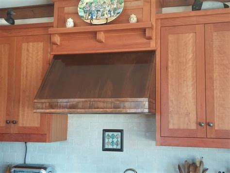 under cabinet hood under cabinet copper range hood handcrafted in usa by