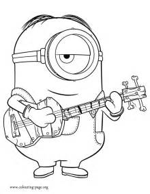 free minions coloring pages free coloring pages of stuart the minion