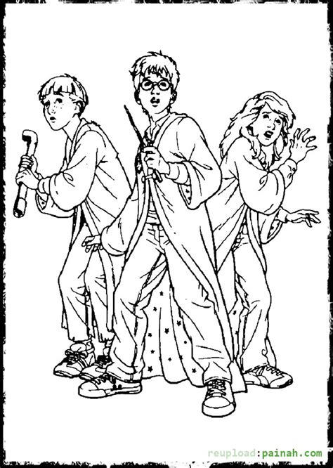 harry potter coloring pages to print coloring pages