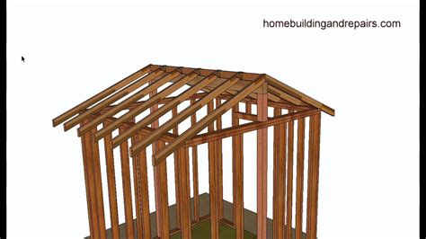 vaulted  cathedral roof framing basics home building