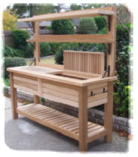 17 best ideas about potting bench bar on pinterest patio