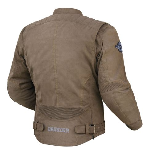 motorcycle riding vest new product dririder scrambler jacket bike review