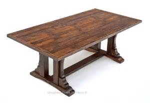 tisch rustikal rustic oak barn wood dining table reclaimed oak table