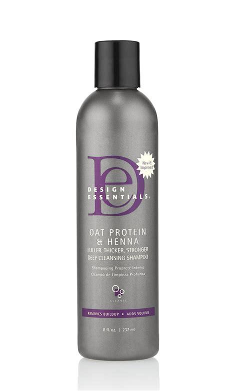 Design Essentials Henna Shoo | design essentials oat protein henna deep cleansing