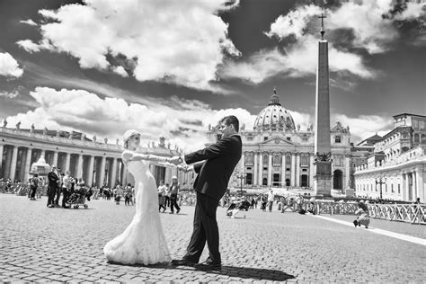 Fairy Tale Destination Wedding at St. Peter's Basilica