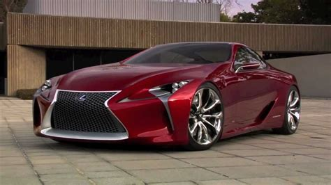 lexus lf lc black lexus lf lc concept built by five axis