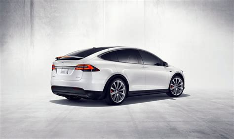 Teslas Model X 2016 Tesla Model X Makes Debut