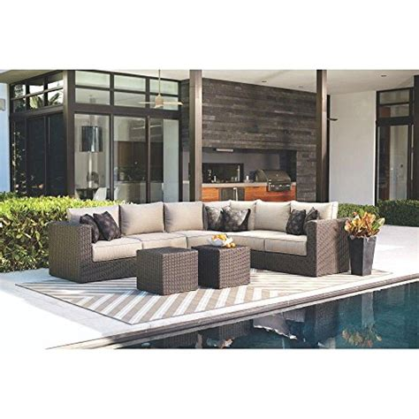 Home Decorators Collection Furniture Home Decorators Collection Sectional Chaise With Putty Cushions Of Naples Collection Featuring A