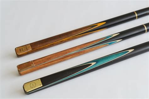 Professional Handmade Snooker Cues - geordie pool made professional range custom snooker