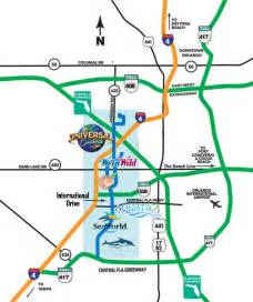 international drive orlando map orlando map