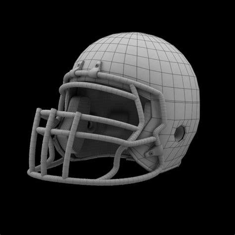model classic american football helmet vr ar