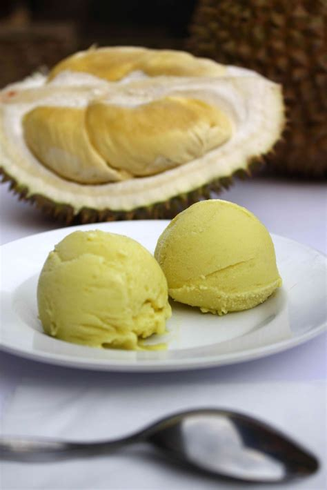 recipe durian ice cream