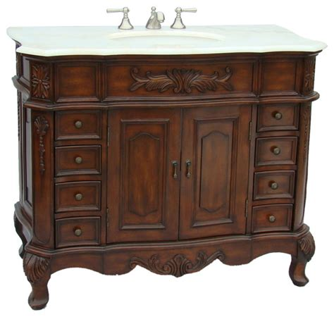 old fashioned bathroom vanity 42 quot old fashioned look morton bathroom sink vanity model