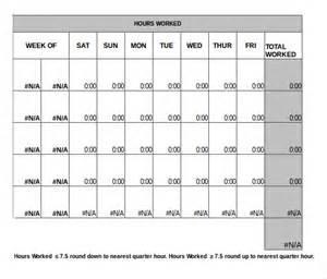 Excel Monthly Timesheet Template by Monthly Timesheet Gallery