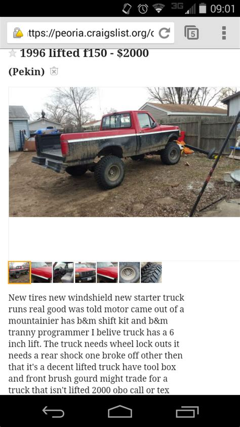 worst cl deals ford trucks page  ford truck