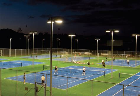 tennis courts with lights energy saving lighting advanced lighting technologies