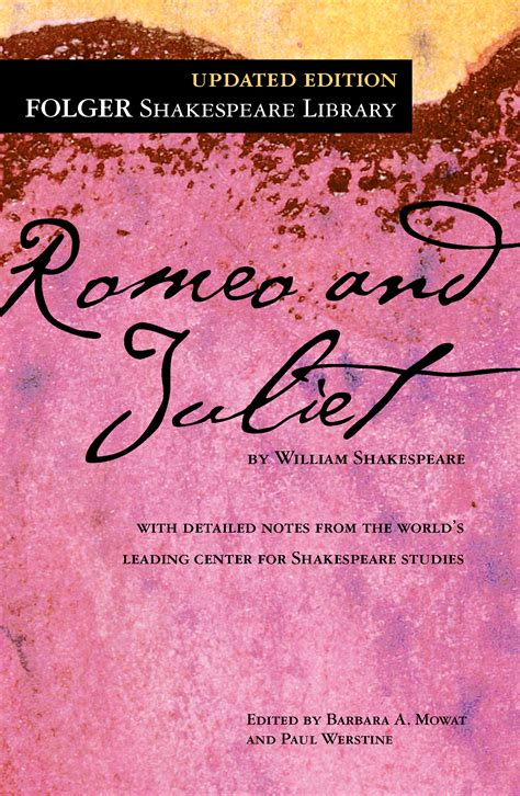 romeo and juliet book by william shakespeare dr