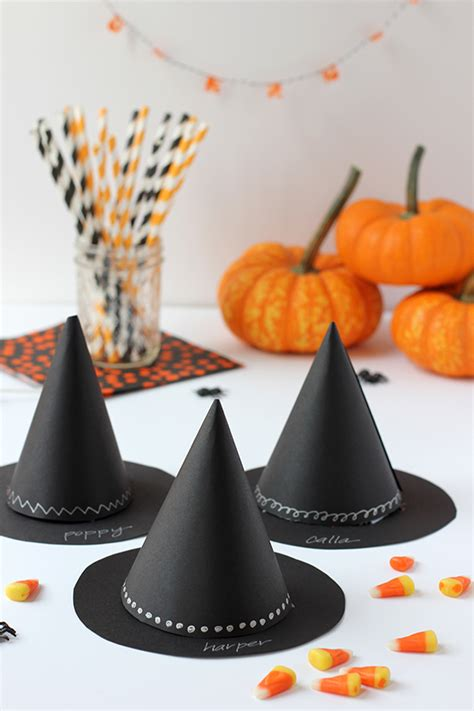 Christmas Party Kids Crafts - diy witch s hat halloween party favor julep