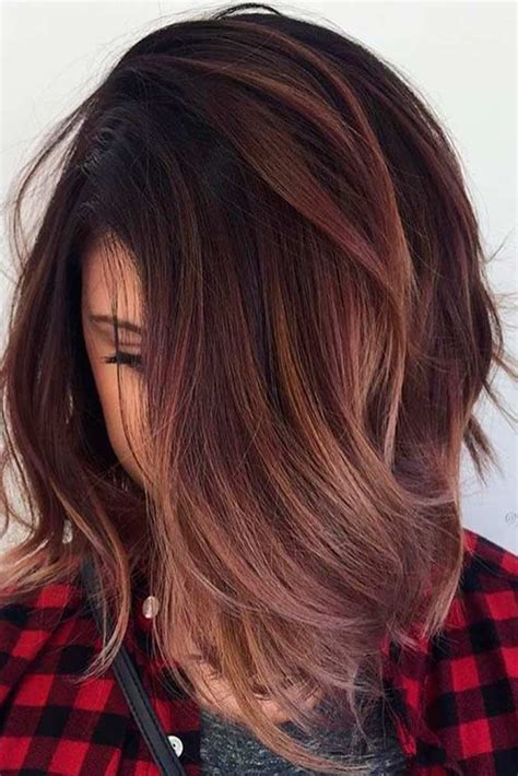 fall highlights for brown hair best 25 fall hair highlights ideas on pinterest