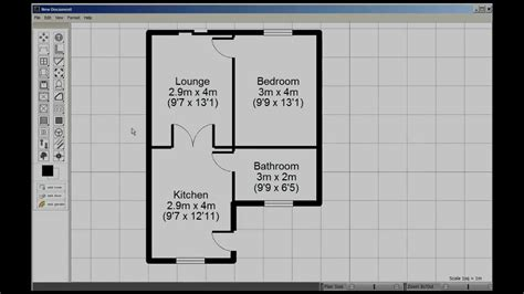 Floor Planner Software visual floorplanner tutorial youtube