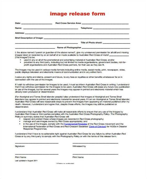 Standard Media Release Form Template 11 Doubts You Should Standard Media Release Form Template