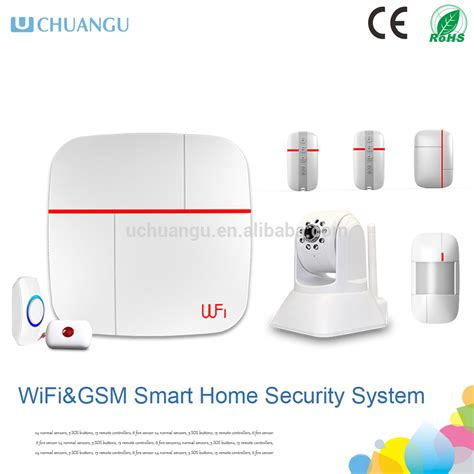 2015wifi gsm wifi smart home security system