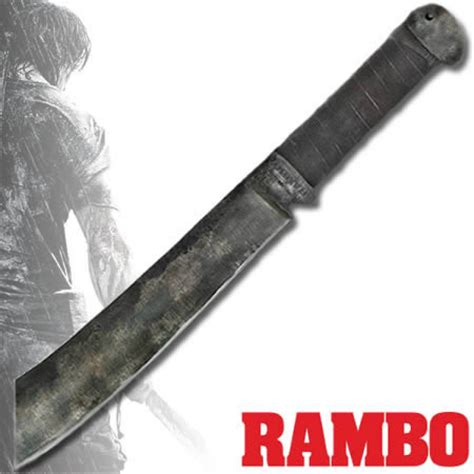 when was rambo 4 made barringtons swords rambo