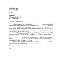 sample letter of recommendation for adoptive parents