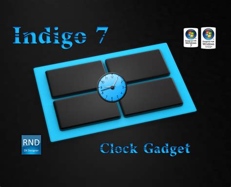 Win Win Win Gadget Skins From Skins4things by Wincustomize Explore Desktop Gadgets Indigo7 Clock Gadget