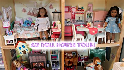 american girl doll house tours huge huge american girl doll house tour updated 2017 youtube