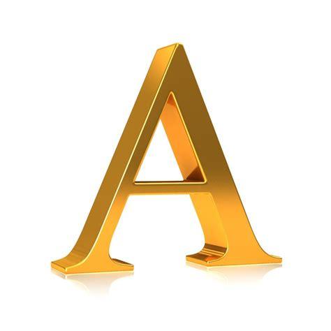 Aufkleber Buchstaben Gold by Aufkleber Gold 3d Buchstaben Quot A Quot Pixers 174 Wir Leben Um