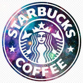 Sprei Kintakun Size King Starbucks Coffee coffee galaxie galaxy logo starbucks image 3553622 by olga b on favim