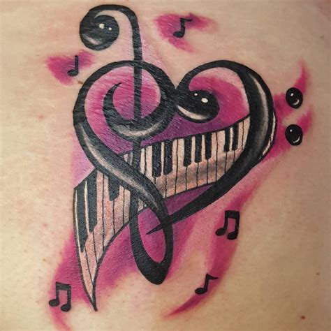 musical instruments tattoo designs 26 designs design trends premium psd