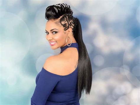haircuts fayetteville arkansas over 180 ponytail hairstyles for black women you need to see