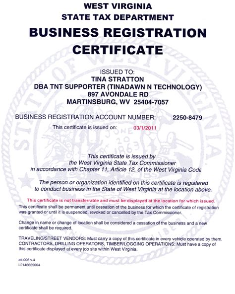 web design certificate new jersey business registration certificate template images