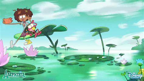 amphibia anne  sprig zoom background    disney junior photo backgrounds  zoom