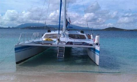 barefoot catamaran icacos back of the catamaran picture of east island excursions