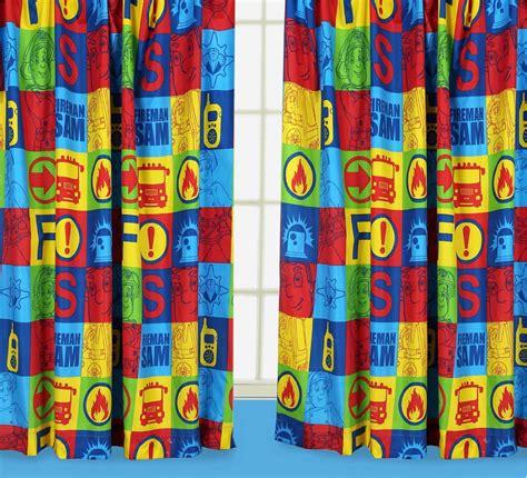postman pat curtains fireman sam character curtains 66 quot x 54 quot 66 quot x 72 quot duty