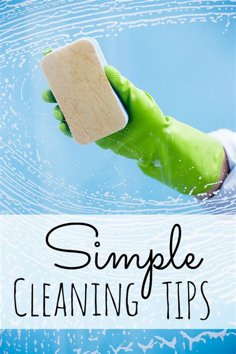 cleaning tips simple cleaning tips