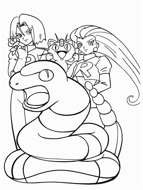 team rocket coloring pages coloring home
