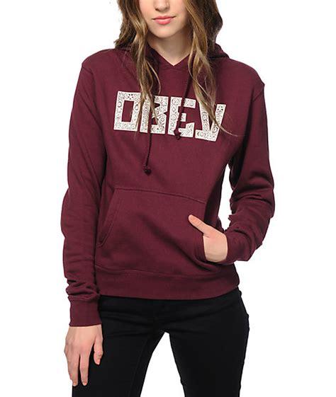 30726 Forever Maroon Flecee maroon hoodies womens trendy clothes