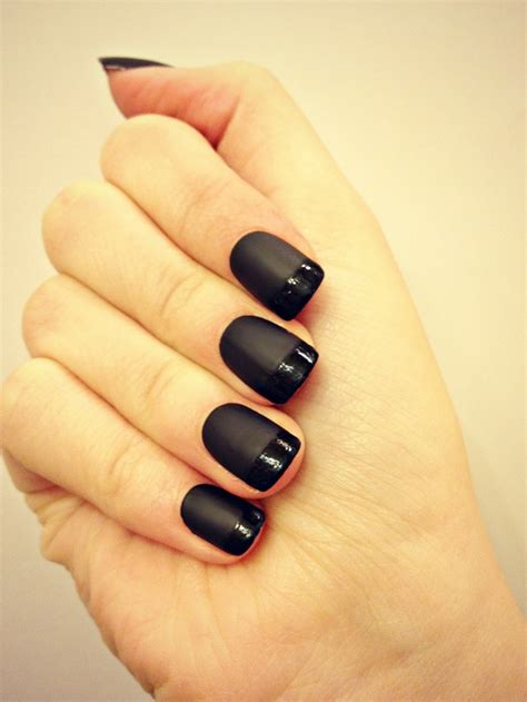 matt schwarz nagellack 100 nageldesign und manik 252 glitzer f 252 r