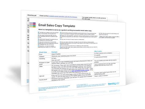sales copy template images